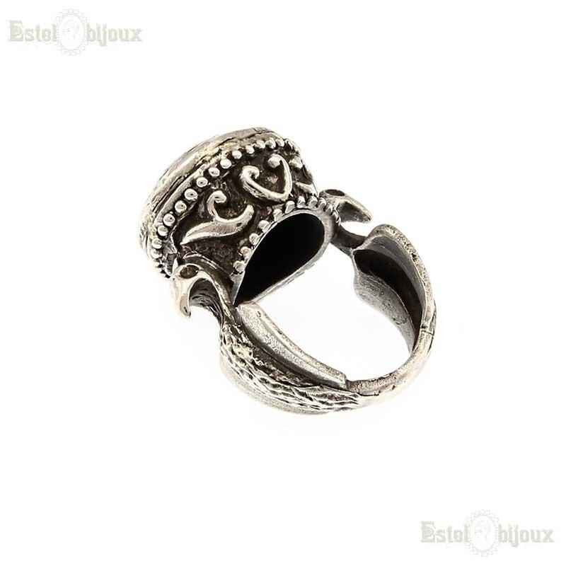 spesso Anello argento con simbolo. Anelli con Pietre Dure e Preziose. BN65