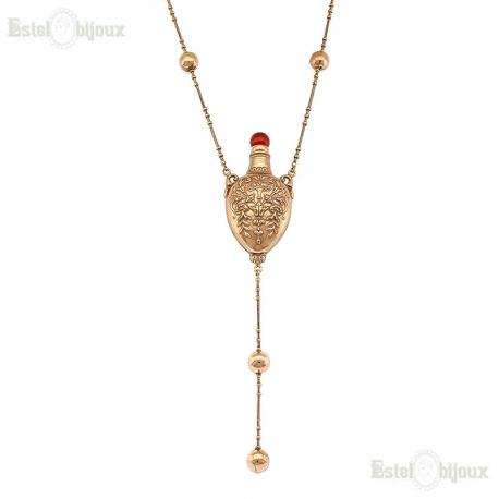 Antique Style Bottle Necklace