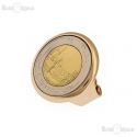 Coin 500 Lire Vintage Style Ring