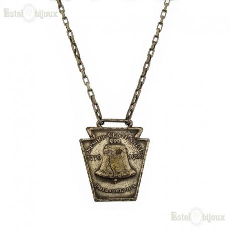 Vintage Necklace - 1920 Sesquicentennial Philadelphia