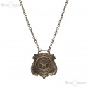 Vintage Necklace - State Arms of Texas