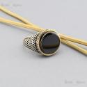 Silver Ring Black Onyx