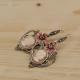 Cammeo Vintage Silver Earrings