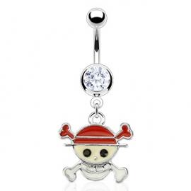 Pirata Piercing Ombelico