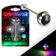 NuRave Blinker Package with Batteries Barbell Piercing