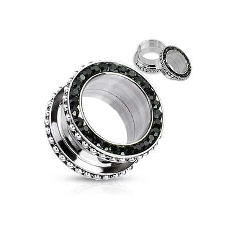 Screw-Fit Multi Gem Rim Tunnel Plug