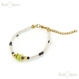 White Stones Bracelet