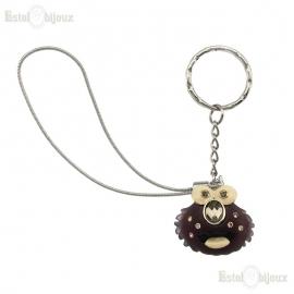 Hedgehog Pendant Key Chain