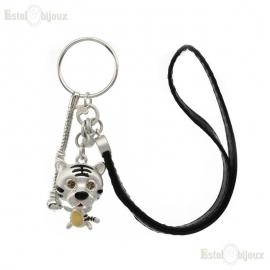 Tiger Pendant Key Chain