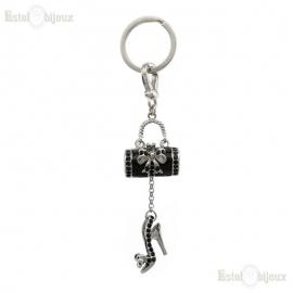 Bag and Shoe Pendant Key Chain