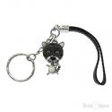 Black Tiger Pendant Key Chain