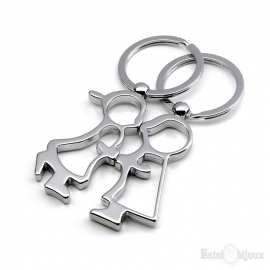 Men and Women Key Chain Set