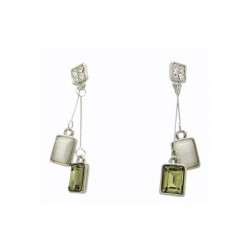 Earrings Pendants-squares