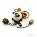 Mouse and Pendants Key Chain