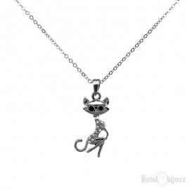 Black Cat Necklace