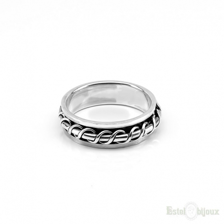 AntiStress Sterling Silver 925 Ring