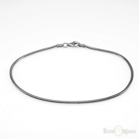 Slim Snake Bracelet Sterling Silver 925