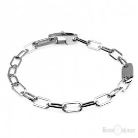 Big Chain Sterling Silver 925 Bracelet
