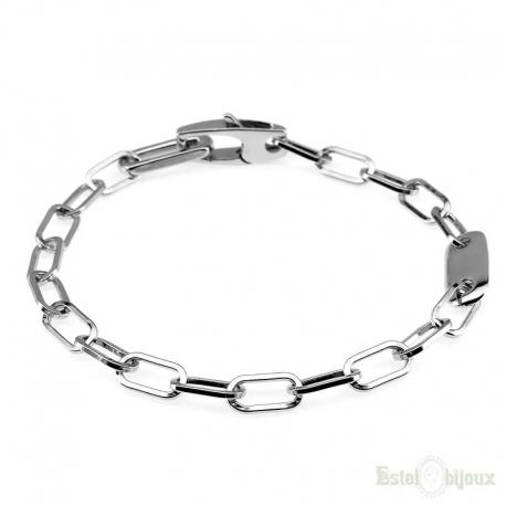 Big Chain Sterling Silver 925 Bracelet