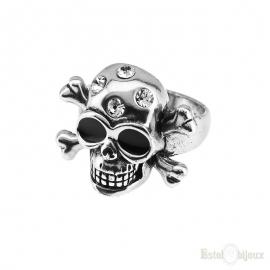 Skull and Bones Ring