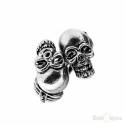 Double Skull Ring
