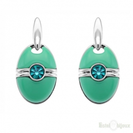 Turquoise Retro Style Earrings