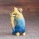 Figurina in ceramica Elefantino