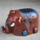 Figurina in ceramica Elefante