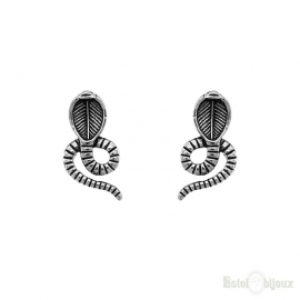 Small Snake Earrings