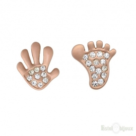 Foot & Hand Earrings
