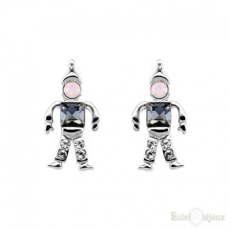 Orecchini Robot e Strass