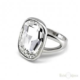 Big Swarovski Crystals Ring