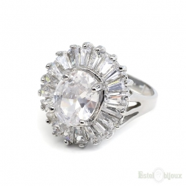 High Quality Crystals Ring