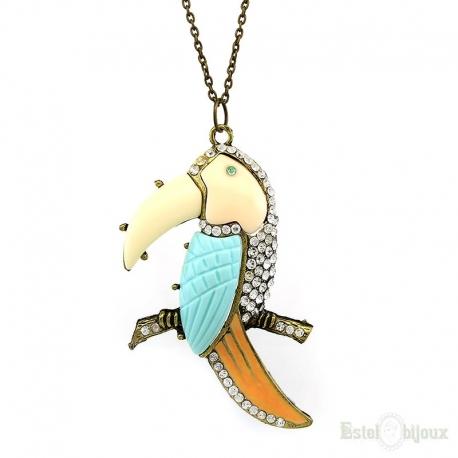 Big Parrot Necklace