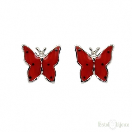 Small Butterflies Stud Earrings
