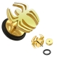 Ragno Spider Fake Plug Gold IP