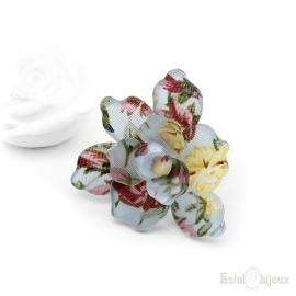 Acrylic Flower Ring
