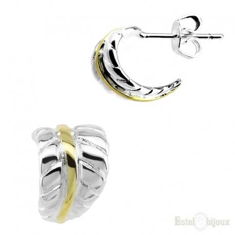 Lobe Stud Earrings