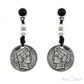 Coins Pendants Earrings