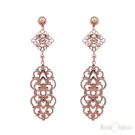 Long Pendants Filigree Earrings