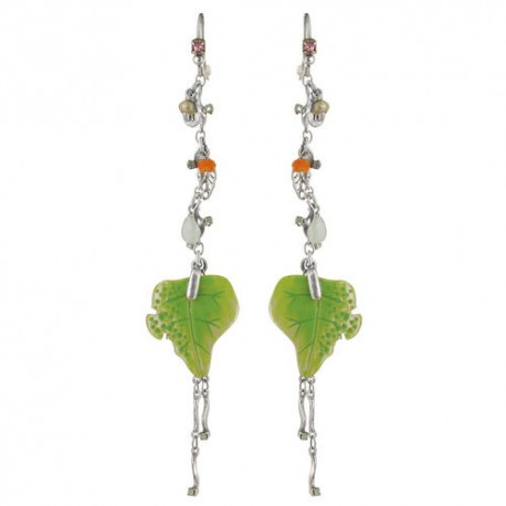 Earrings FRANCK HERVAL ECHAPPEE BUCOLIQUE 12-60423